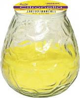 Свеча  антимоскитная садовая  в стекле Bispol Цитронелла 10,5 см  (s70-86)
