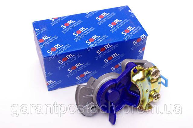 Головка ПАЛМ КамАЗ (М22х1,5) синяя (SORL) 35210010120 / 100-3521111