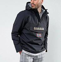 Анорак , куртка Napapijri , демисезонный унисекс