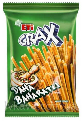 Крекер  ETi CRAX sticks со специями , 45 гр, фото 2