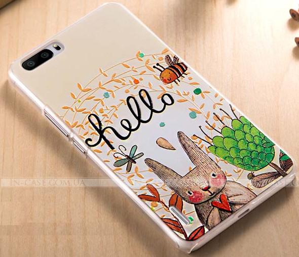 Чехол-накладка Xiaomi Mi5 Gecko White S-G-XIMI5-WH
