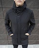 """Мужская осенняя куртка Куртка Pobedov Soft Shell Jacket """"Japan"""" черные"""