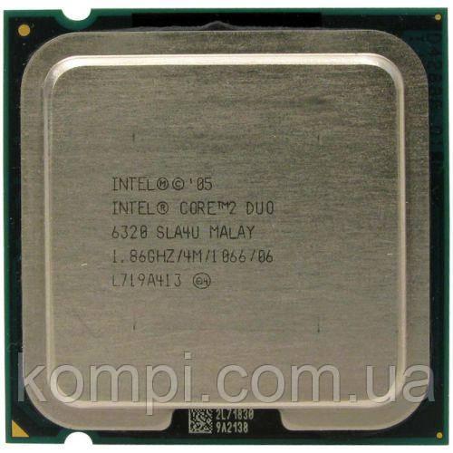 Процессор Intel Core2Duo E6320  S775