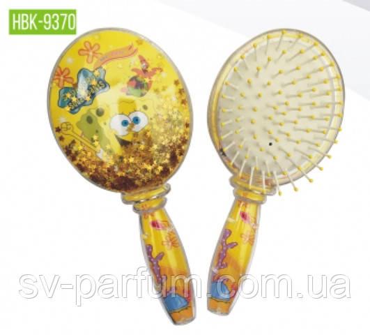 HBK-9370 Детская щетка для волос (блёстки) Beauty LUXURY