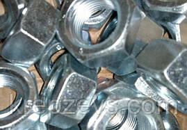 Гайка М10 шестигранная ГОСТ 5915-70, DIN 934
