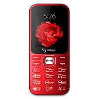 Мобільний телефон Sigma mobile X-Style 32 Boombox Red (4827798524329)