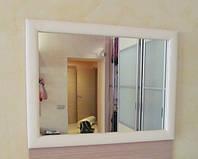 Зеркало в раме из искусственной кожи или ткани на заказ