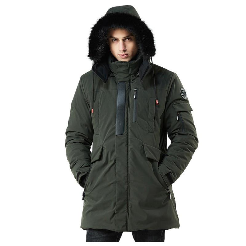 Куртка мужская осень зима бренд Metropolis (Канада) размер 48 хаки 03001/032