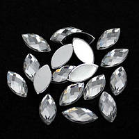Акриловый листик Crystal 3*6.Цена за 10шт