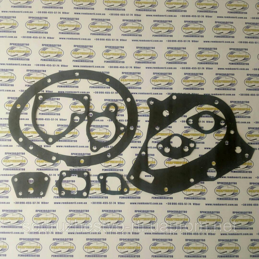 Набор прокладок для ремонта двигателя автомобиль ГАЗ-51 / ГАЗ-52 (прокладка паронит 0.8 мм.) (малый набор)