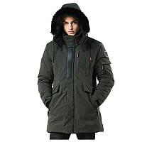 Куртка мужская осень зима бренд Metropolis (Канада) размер 52 хаки 03001/034