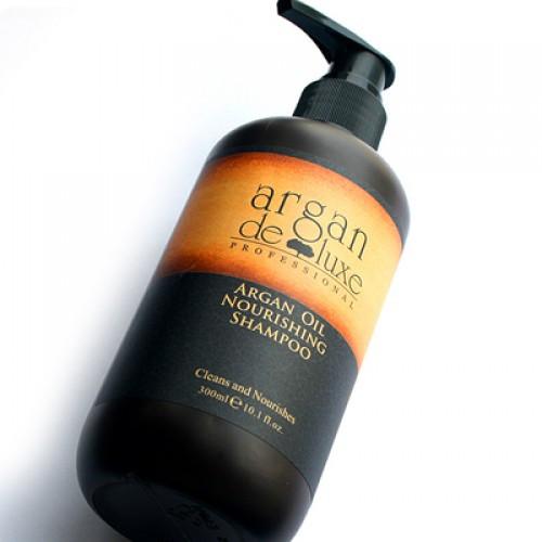 Argan De Luxe шампунь питательный с маслом Арганы 1000 мл