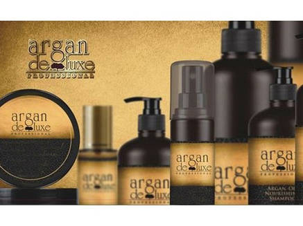 Argan De Luxe шампунь питательный с маслом Арганы 1000 мл, фото 2