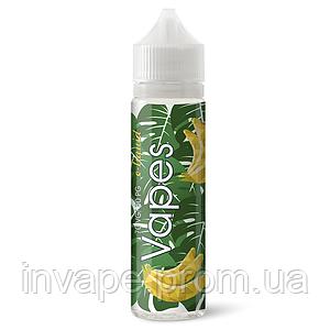 Жидкость для электронных сигарет Vapes- Банан 60мл, 0 мг