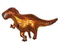 Воздушный фольгированный шар динозавр Ти-рекс  104х77 см
