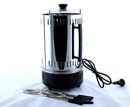 Электрошашлычница Domotec MS-BBQ6 на 6 шампуров, электрическая шашлычница Домотек, фото 3