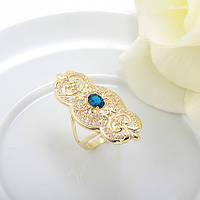 Изысканонное Кольцо на нежный дамский пальчик,  р.16, Luxury