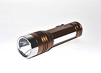 Фонарь светодиодный King Light - 084 XPE + 6 smd диодов, power bank, usb