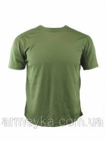 Армейские потоотводящие термофутболки Coolmax, зеленые, НОВЫЕ оригинал