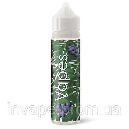 Жидкость для электронных сигарет Vapes- Виноград 60мл, 6 мг, фото 2