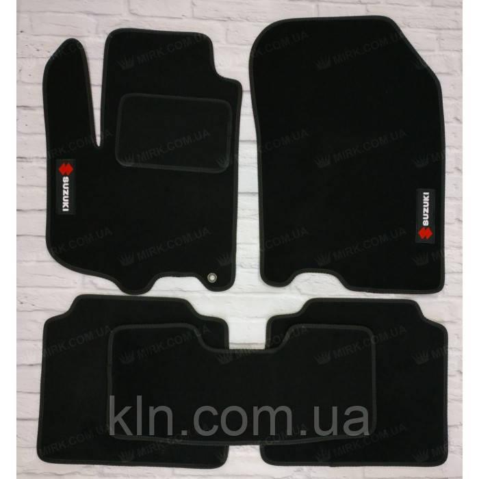 Премиум коврики в салон автомобиля текстильный  Suzuki SX-4 II АКП SD  2013-