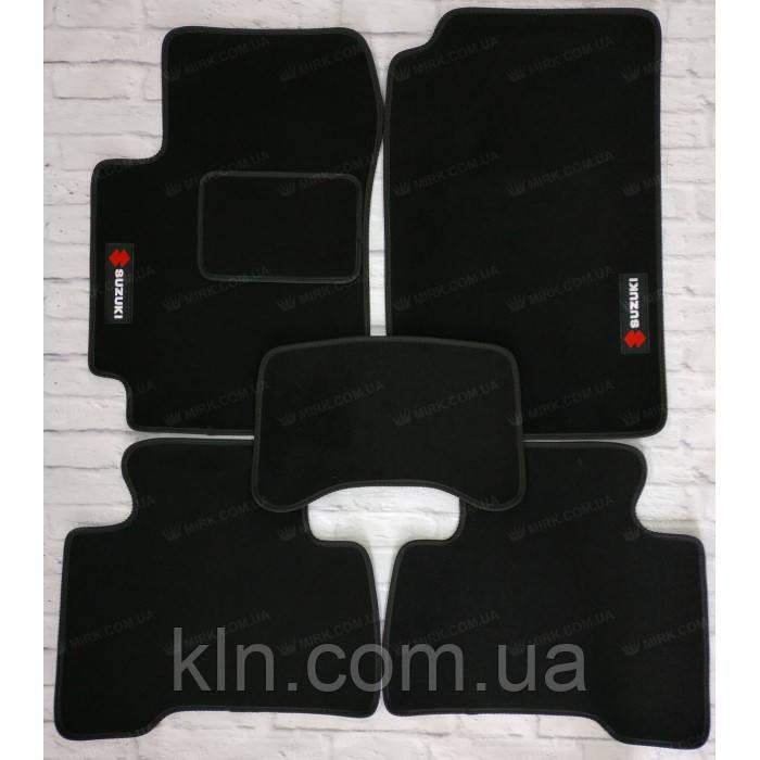 Премиум коврики в салон автомобиля текстильный  Suzuki Grand Vitara второе поколение 2005-