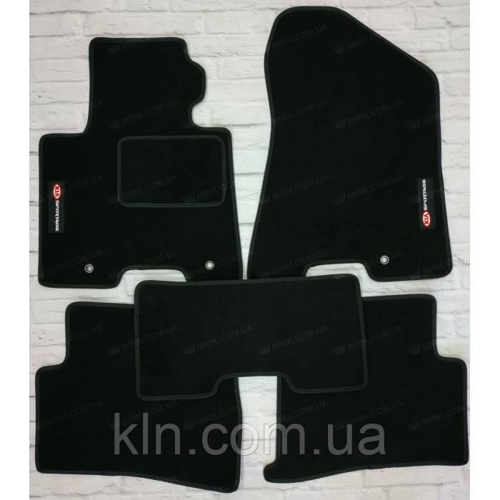 Коврики для салона автомобиля текстильный  Kia Sportage IV 2015- (5шт.)