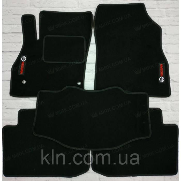 Коврики для салона автомобиля текстильный  Nissan Leaf 2010-  (5шт)