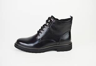 Ботинки демисезонные кожаные 9321, фото 2