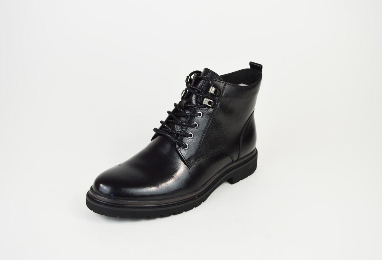 Ботинки демисезонные кожаные 9321