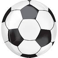 Воздушный фольгированный шар 3D мяч 28х56 см (Китай)