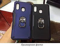Ударопрочный чехол SG Ring Color магнитный держатель для Xiaomi Redmi Note 7 / Note 7 Pro / Note 7s