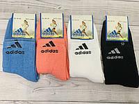 Носки женские зимние махровые хлопок Adidas размер 36-40 ассорти