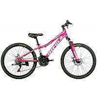 "Велосипед IMPULS HOLLY 24"" Рама 11,5"" малиновый"