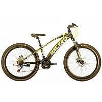 """Велосипед IMPULS ARROW 26"""" Рама 13"""" черно-лимонный"""
