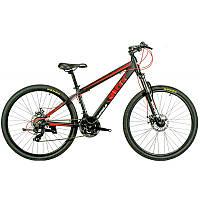 """Велосипед IMPULS RIO 26"""" Рама 14"""" черно-красно-оранжевый"""
