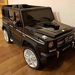 Детский электромобиль Джип M 3567 EBLR-2 (4WD), Mercedes G65 VIP, черный