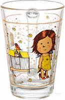 Стеклянная чашка 260 мл для чая, горячих напитков UniGlass Gapchinska Кекс, фото 1