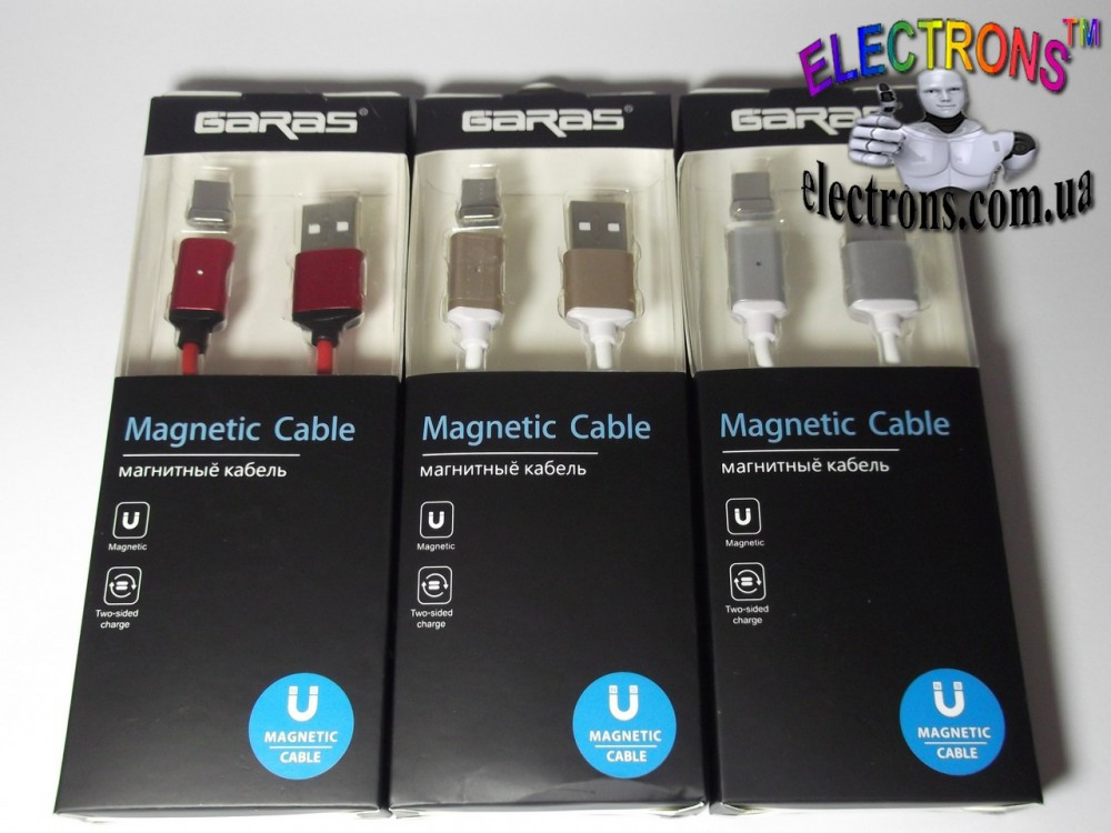 Магнитный кабель Тип-с, type-C USB зарядка c магнитным наконечником