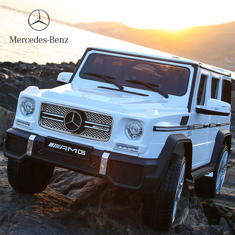 Детский электромобиль Джип M 3567 EBLR-1 (4WD), Mercedes G65 VIP, белый