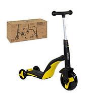 Самокат  Best Scooter 3 в 1 - Беговел, Велосипед