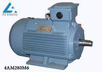Электродвигатель 4АМ280М6 90кВт 1000 об/мин, 380/660В
