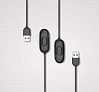 Кабель Mi Band 4 производства MiJobs зарядное зарядка USB charger Mi Fit Черный, фото 3