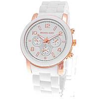 Женские (Мужские) кварцевые наручные часы Michael Kors на пластиковом ремешке