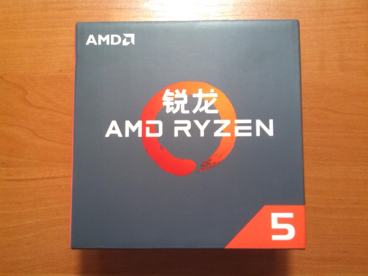 AMD Ryzen 5 1600X YD160XBCM6IAE сокет AM4 Новий!