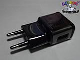 Зарядное устройство, адаптер 0,5 Ампер 5 Вольт на один USB порт, фото 3