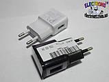 Зарядное устройство, адаптер 0,5 Ампер 5 Вольт на один USB порт, фото 6