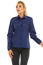 Рубашка 611 темно-синяя