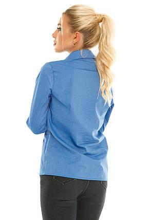 Рубашка 611 джинс, фото 2