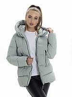 Куртка- пуховик женский Irvik ZP3178 серый